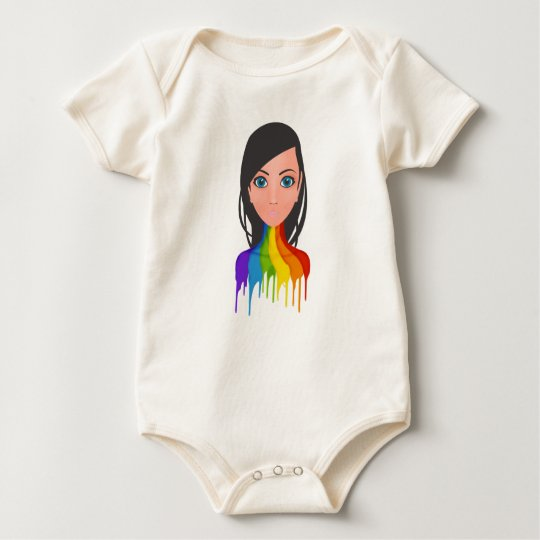 Liberte its creativity baby bodysuit