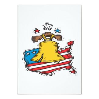Liberty 13 Cm X 18 Cm Invitation Card