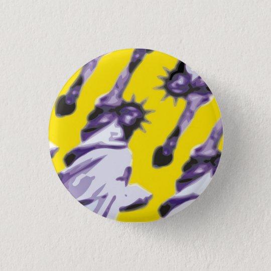 Liberty 3 Cm Round Badge