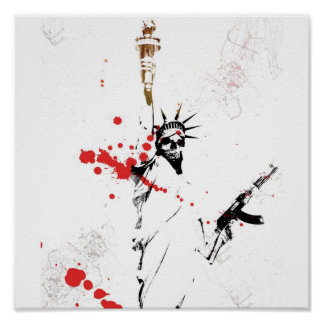 Liberty and Death Poster