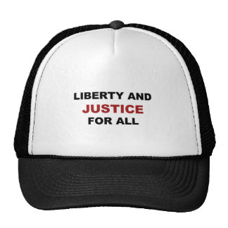 Liberty and JUSTICE for All Cap