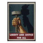 Liberty and Justice for All Poster