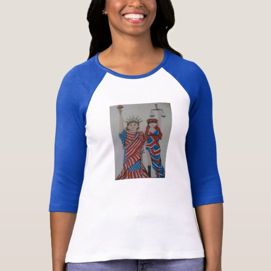 Liberty and Justice USA UK T-Shirt
