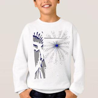 Liberty And Sky Rocket Sweatshirt