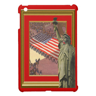 Liberty and the stars and stripes iPad mini cases