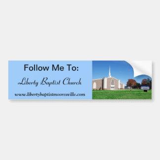 Liberty Baptist Bumper Sticker Car Bumper Sticker