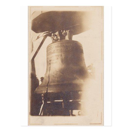 Liberty Bell, circa WWI Postcard