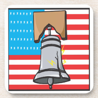 Liberty Bell Beverage Coasters