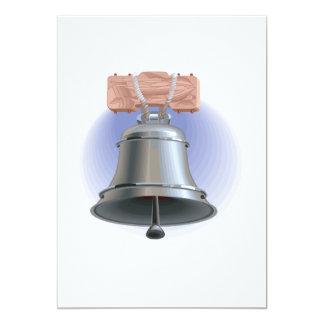 Liberty Bell 13 Cm X 18 Cm Invitation Card