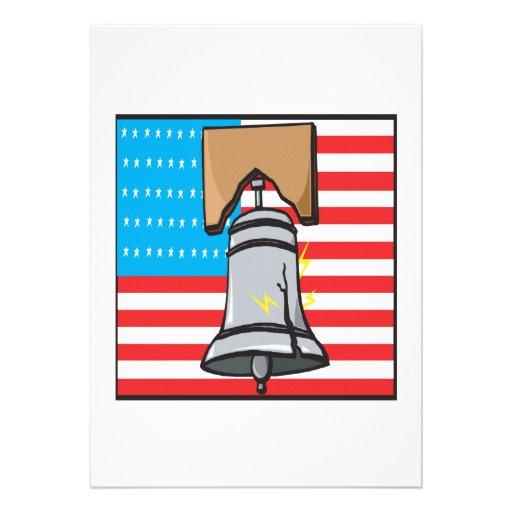 Liberty Bell Custom Invitation