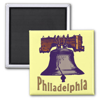 Liberty Bell Square Magnet