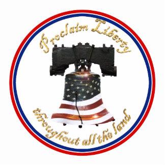 Liberty Bell w/American Flag - Proclaim Liberty Photo Cut Outs