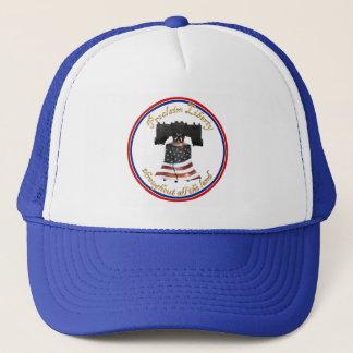 Liberty Bell w/American Flag - Proclaim Liberty Trucker Hat