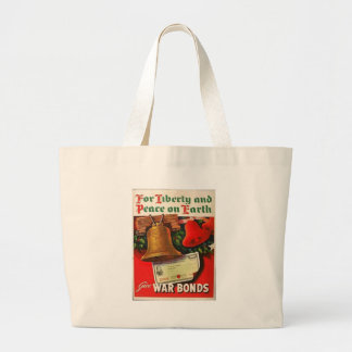 Liberty Bell World War 2 Tote Bags