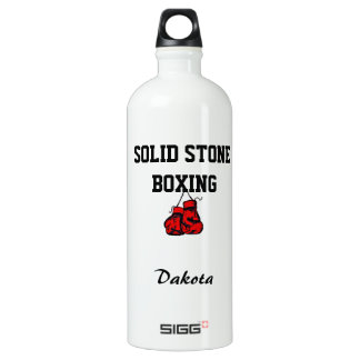 Liberty Bottle Solid Stone Boxing SIGG Traveller 1.0L Water Bottle