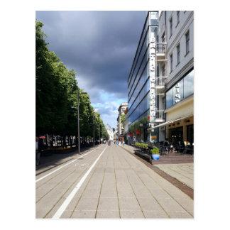 Liberty boulevard in Kaunas | Postcard