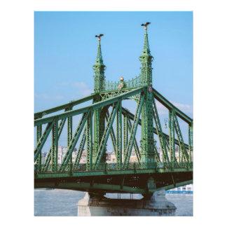Liberty Bridge, Budapest 21.5 Cm X 28 Cm Flyer