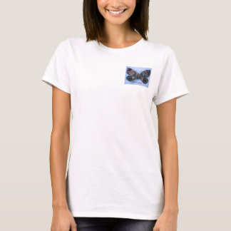 Liberty Butterfly Baby Doll (fitted) T-Shirt