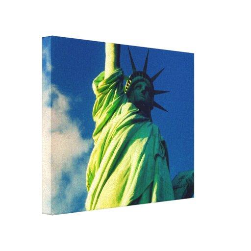 liberty canvas canvas print