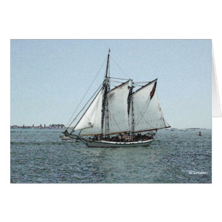 Liberty Clipper--thank you Note Card