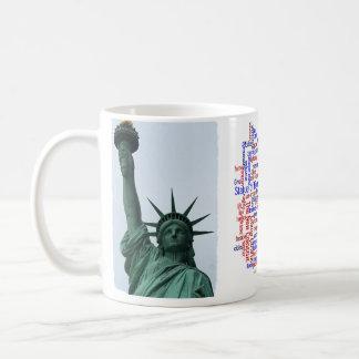 Liberty cloud coffee mug