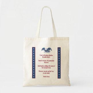 liberty eagle tote - Henry Budget Tote Bag