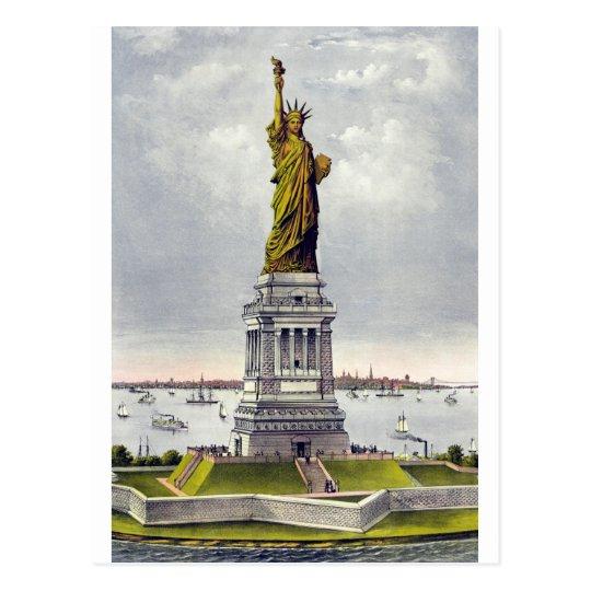 Liberty Enlightening the World Postcard