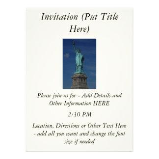 Liberty Enlightening the World - Statue of Liberty Custom Announcements