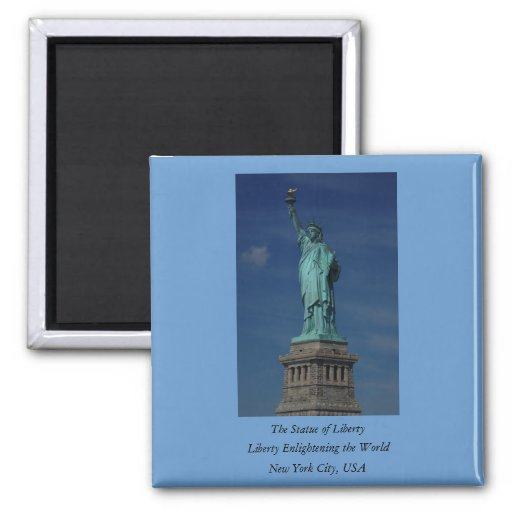 Liberty Enlightening the World - Statue of Liberty Refrigerator Magnet