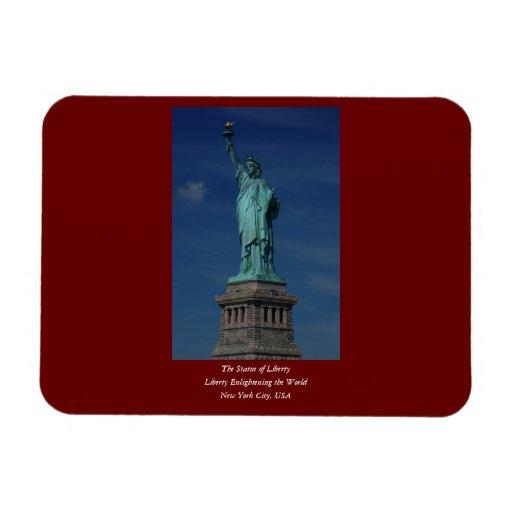 Liberty Enlightening the World - Statue of Liberty Rectangular Magnet