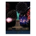 Liberty Fireworks 1 Postcard