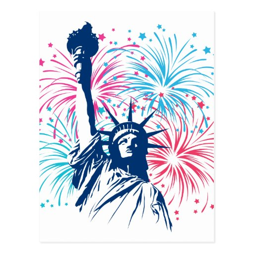Liberty Fireworks Post Cards
