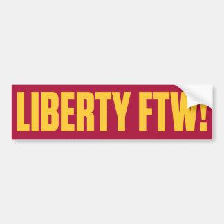 Liberty For The Win Bumper Sticker
