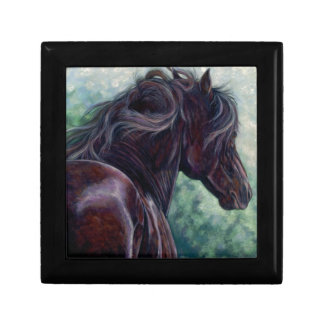 Liberty - Friesian Stallion Gift Box