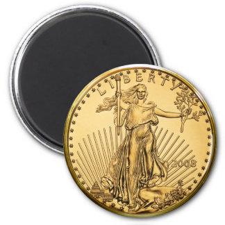 Liberty Gold Bullion Coin Magnet