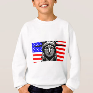 Liberty Head Over Flag Sweatshirt