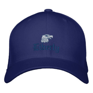 Liberty in Blue Embroidered Cap