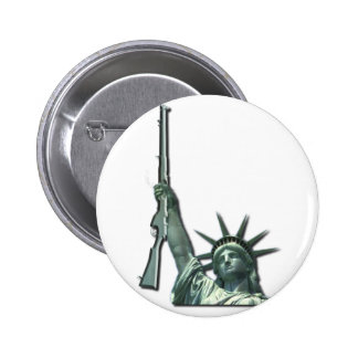 LIBERTY IN FIREARMS - 2ND AMENDMENT 6 CM ROUND BADGE
