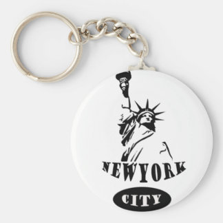 Liberty In new york city Key Ring