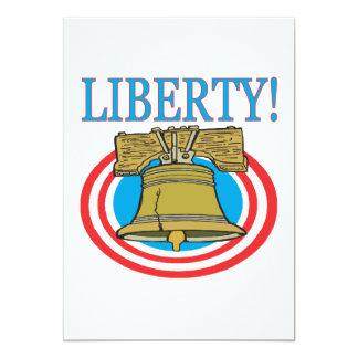 Liberty 5x7 Paper Invitation Card