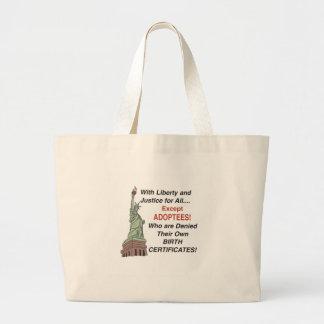 Liberty & Justice Jumbo Tote Bag