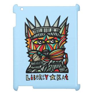 """""""Liberty Kat"""" 631 Art iPad Case"""