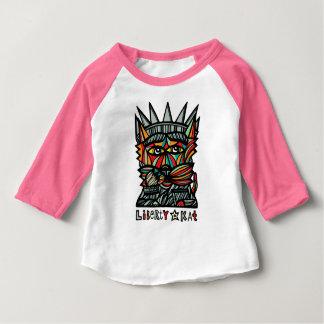 """""""Liberty Kat"""" Baby Raglan T-Shirt"""