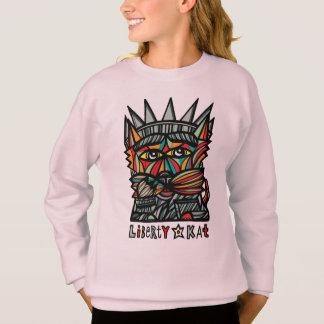 """""""Liberty Kat"""" Girls' Sweatshirt"""