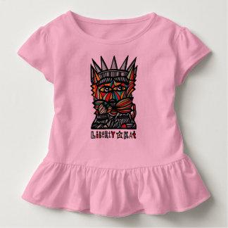 """""""Liberty Kat"""" Toddler Ruffle Tee"""