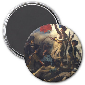 Liberty Leading the People 7.5 Cm Round Magnet