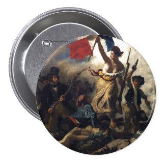 Liberty Leading the People 7.5 Cm Round Badge