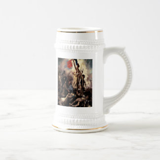 'Liberty Leading the People'' Beer Steins