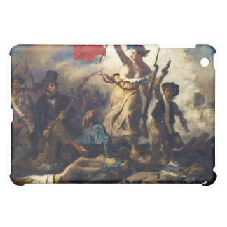 Liberty Leading the People by Eugene Delacroix iPad Mini Covers