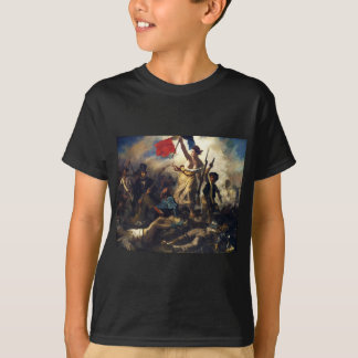 Liberty Leading the People by Eugene Delacroix T-Shirt